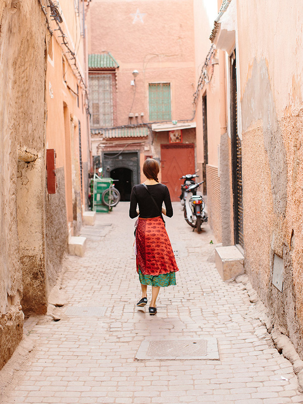 """<p style=""""padding-left: 15px; padding-right:15px"""">""""I traveled a lot during that time. Living abroad shifted my focus from illness to exploration.""""</p> </br> <span style=""""font-weight: bold"""">Life in Morocco</span> <p>11 countries in 4 years</p>"""